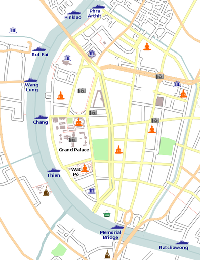 Zonas y mapas de Bangkok2