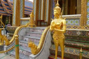 El Palacio real de Bangkok