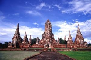 Ayutthaya - templo antiguo