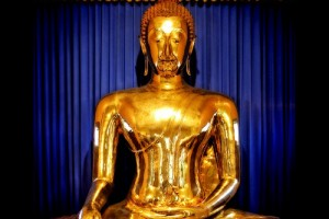 Buda de oro en Bangkok