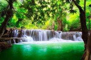 Kanchanaburi cascada