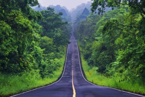 Khao yai la carretera