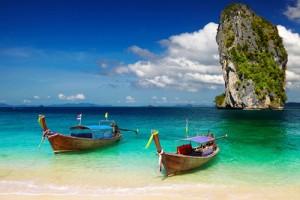 Barcos en Krabi