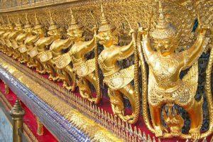 Templo en el Gran Palacio de Bangkok